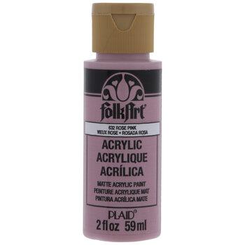 Rose Pink FolkArt Acrylic Paint