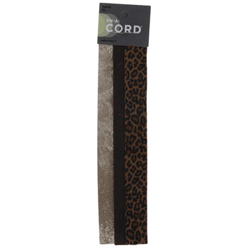 Floral & Animal Print Leather Inlays