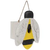 Bee Wood Birdhouse