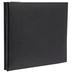 Black Vinyl Post Bound Scrapbook Album - 6