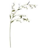 White Cluster Flower Spray