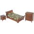 Walnut Sleigh Bedroom Furniture