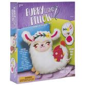 Furry Llama Pillow Kit