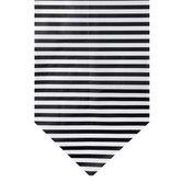 Black & White Striped Table Runner