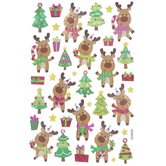 Christmas Reindeer Stickers