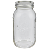 Glass Mason Jar - 32 Ounce