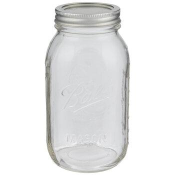 Glass Mason Jar - 32 Ounce