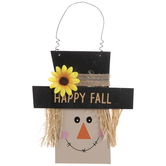 Happy Fall Scarecrow Ornament
