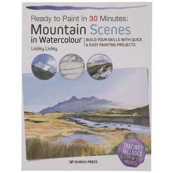 Ready To Paint Mountain Scenes In Watercolour