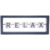 Relax Sliding Blocks Wood Decor