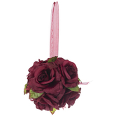 Burgundy Rose Ball