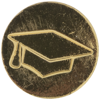 Graduation Cap Wax Seal Stamp