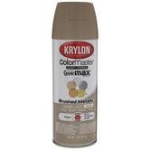 Krylon ColorMaster Brushed Metallic Spray Paint & Primer