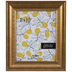 Gold Etched Scoop Wall Frame - 8