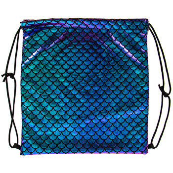 Mermaid Scale Drawstring Bag