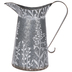 Jug Galvanized Metal Wall Container