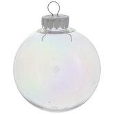 Iridescent Ball Ornaments