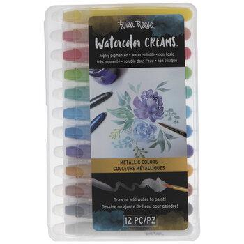 Metallic Watercolor Creams