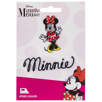 Minnie Mouse Iron-On Appliques