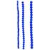 Blue Round Acrylic Bead Strands