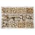 Wood Bead Mix