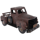 Distressed Metal Truck