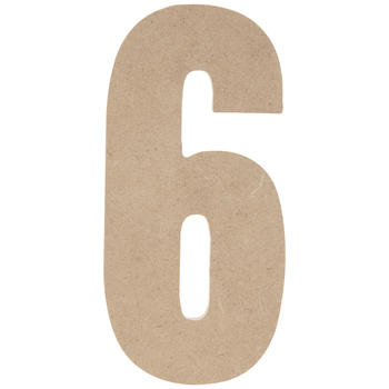 "Wood Number 6 - 5"""