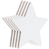 Star Magnetic Blank Canvas Set - 3""