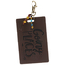 Going Places Leather Luggage Tag