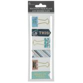 Sloth Magnet Bookmarks & Binder Clips