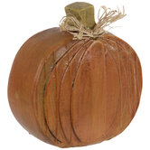 Orange Distressed Pumpkin