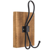 Wood Double Wall Hook