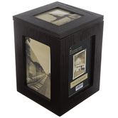 Photo Storage Box Wood Collage Frame