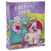 Furry Unicorn Pillow Kit