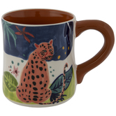 Abstract Cheetah Mug