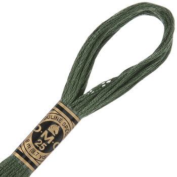 520 Dark Fern Green DMC Cotton Embroidery Floss