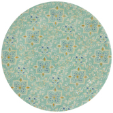 Blue & White Paisley Plate