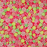 Peppermint Swirl Gift Wrap