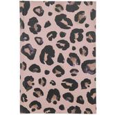 Pink Leopard Print Notebook