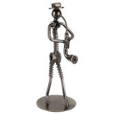 Nuts & Bolts Metal Saxophone Player