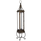 Tall Antique Metal Lantern