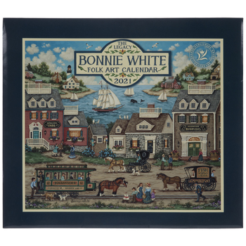 Bonnie White Folk Art Calendar