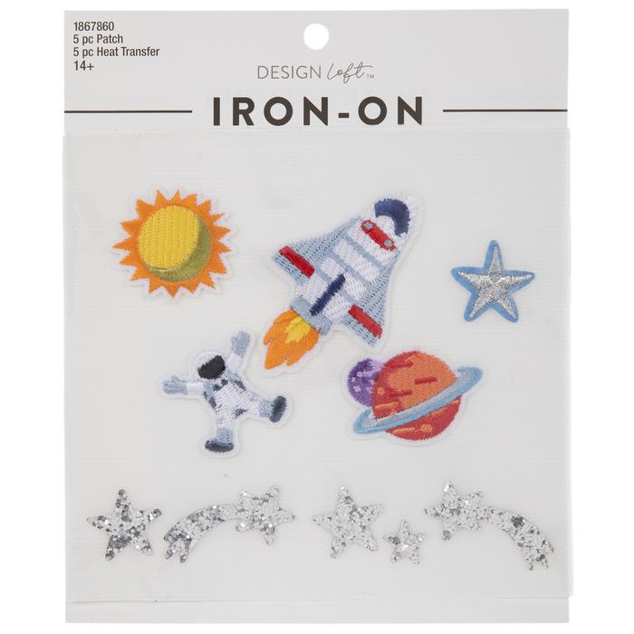 Intergalactic iron-patch
