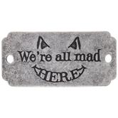 We're All Mad Here Focal Pendant