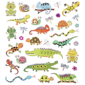 Reptiles & Insects Foil Stickers