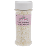 White Nonpareil Sprinkles