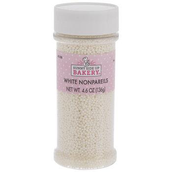 White Nonpareil Sprinkles