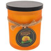 Harvest Pumpkin Jar Candle