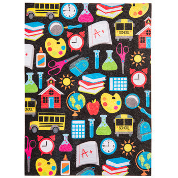Back To School Felt Sheet