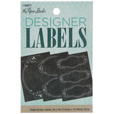Ornate Chalk Designer Labels